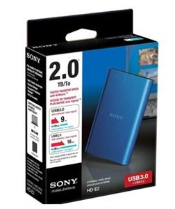 SONY HD-E2 Portable External Hard Drive 2TB